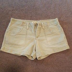 AEO green shorts